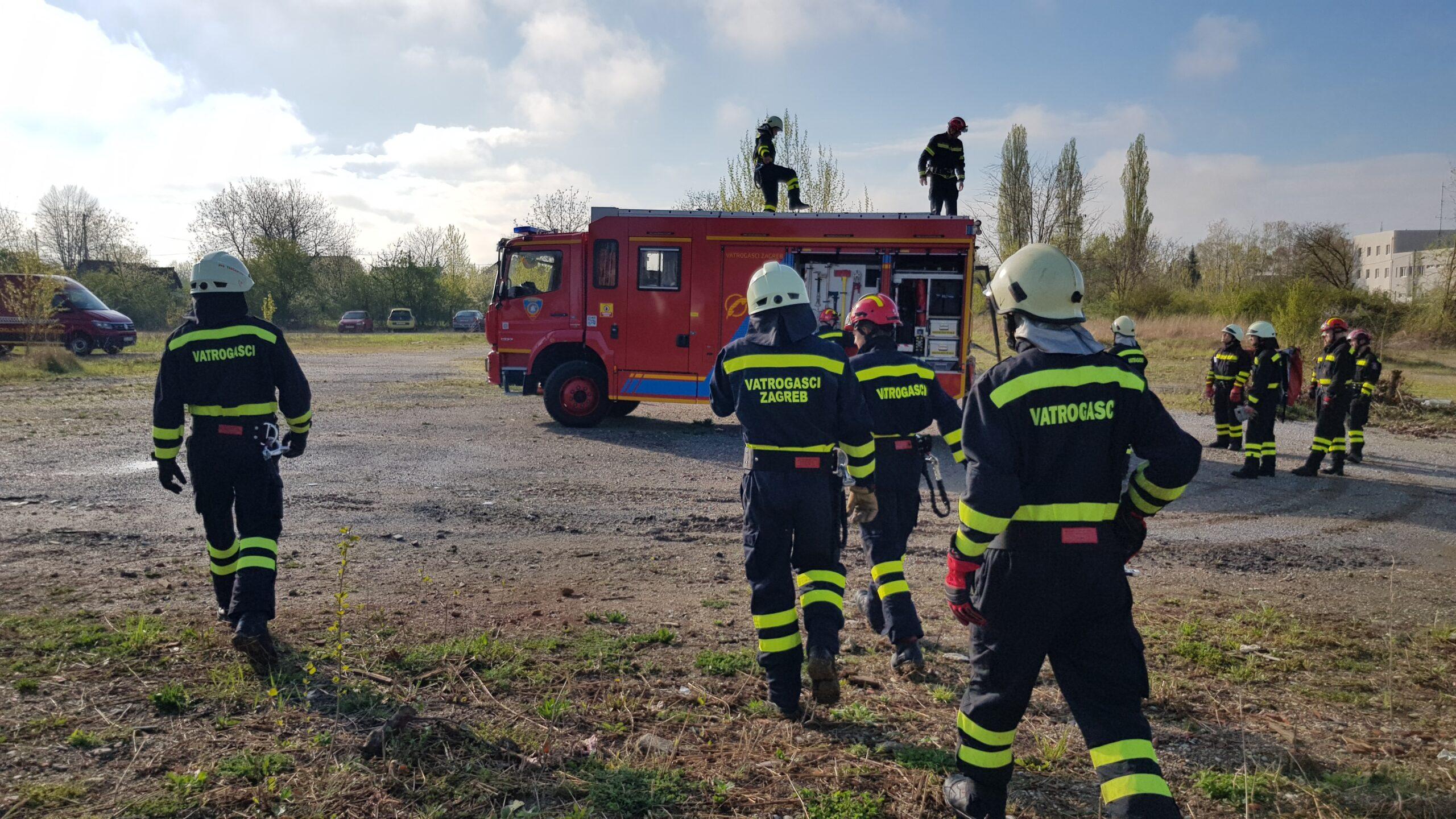 Započela je Specijalistička obuka za spašavanje u ruševinama