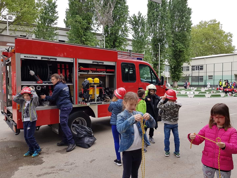 Prezentacija vatrogasne preventive u OŠ Rapska
