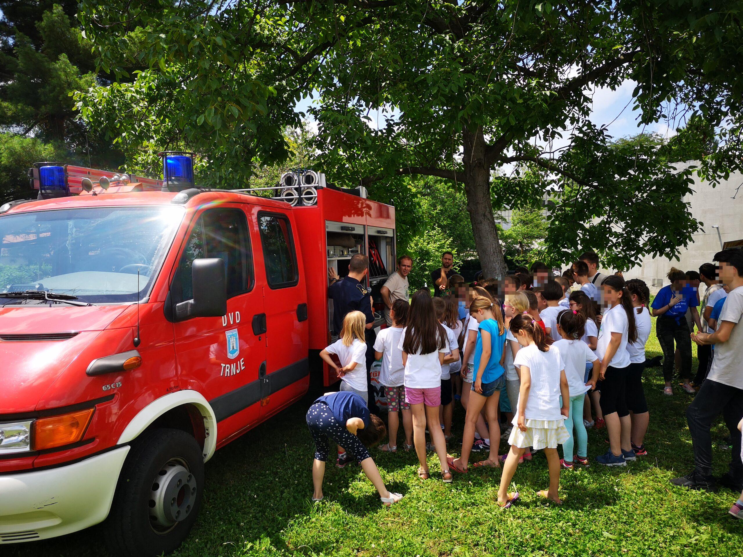 Vatrogasna preventiva: Župa Svete Terezije od Djeteta Isusa