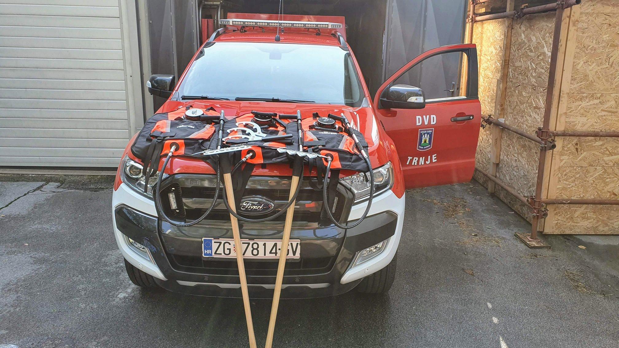 Nova oprema za gašenje šumskih požara