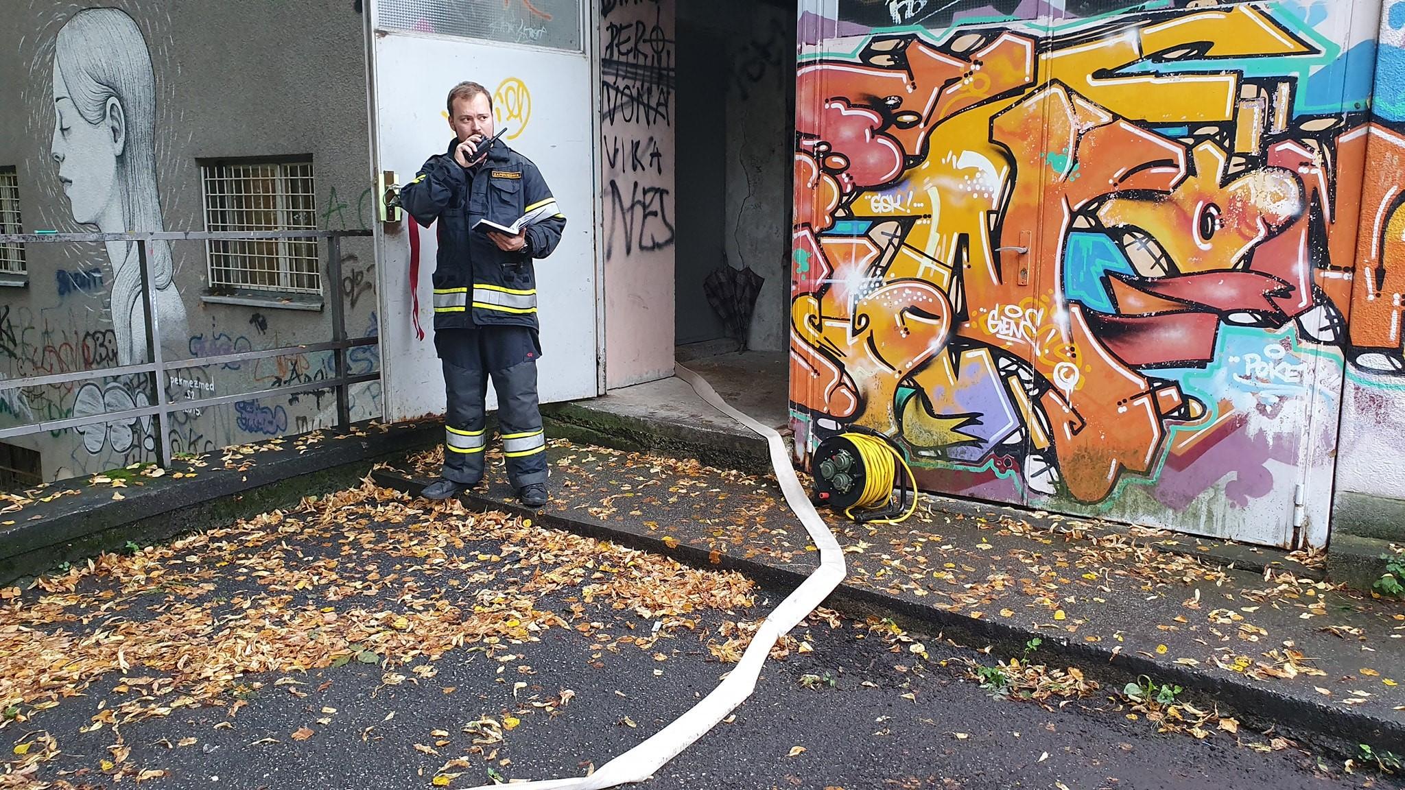 Ispumpavanje podruma u centru kulture na Pešćenici – intervencija 33/2019
