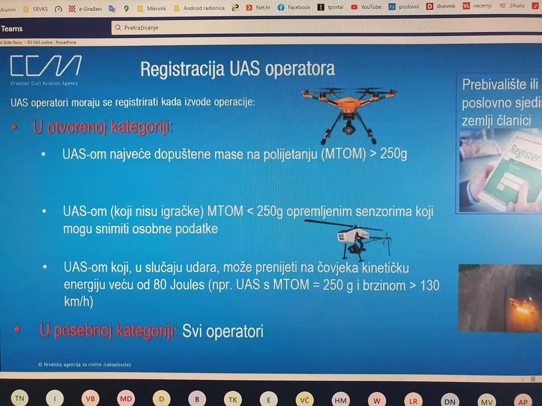 Sudjelovali smo na radionici za pilote dronova