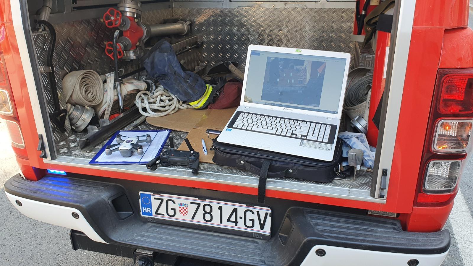 Projekt nabavke drona sa termalnom kamerom za potrebe vatrogastva DVD-a Trnje