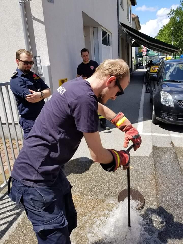 Prvi dan nadzora provjerili smo 80 hidranata